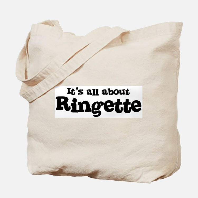 All about Ringette Tote Bag