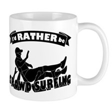 Id RATHER be Crowd Surfing (male) Small Mug