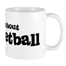 All about Racquetball Mug