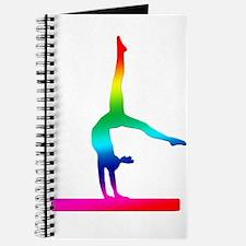 Flip Flop Rainbow Gymnast Journal