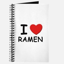 I love ramen Journal