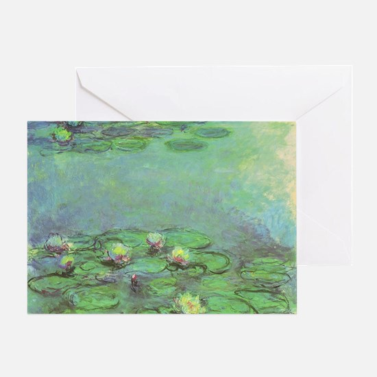 Waterlilies by Claude Monet Greeting Card