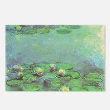 Waterlilies by Claude Mon Postcards (Package of 8)