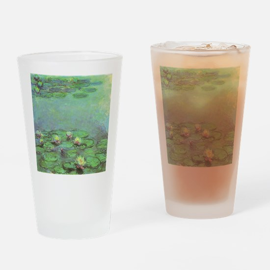 Waterlilies by Claude Monet Drinking Glass