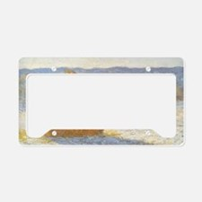 Grainstack by Claude Monet License Plate Holder