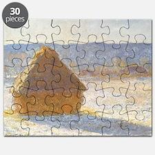 Grainstack by Claude Monet Puzzle