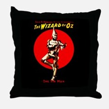 Tin Man Throw Pillow