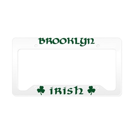 Brooklyn NY Irish License Plate Holder