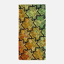 Celtic Leaf Tesselation Beach Towel