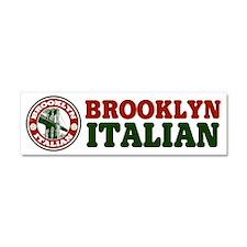 Brooklyn New York Italian Car Magnet 10 x 3