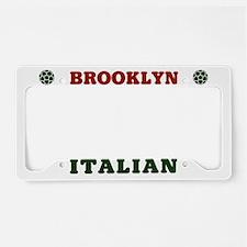 Brooklyn New York Italian License Plate Holder