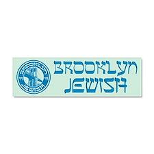 Brooklyn New York Jewish Car Magnet 10 x 3