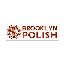 Brooklyn New York Polish Car Magnet 10 x 3