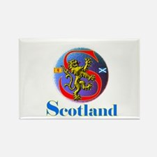 Classic Scotland Rectangle Magnet
