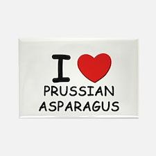 I love prussian asparagus Rectangle Magnet