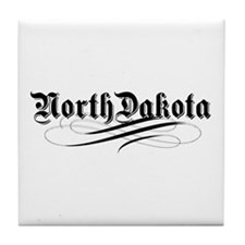North Dakota Tile Coaster