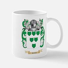 Izzo Coat of Arms (Family Crest) Mug