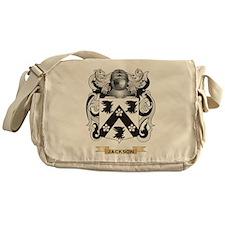 Jackson Coat of Arms (Family Crest) Messenger Bag