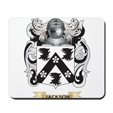 Jackson Coat of Arms (Family Crest) Mousepad