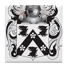 Jackson Coat of Arms (Family Crest) Tile Coaster