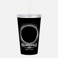 Eclipseville USA Acrylic Double-wall Tumbler