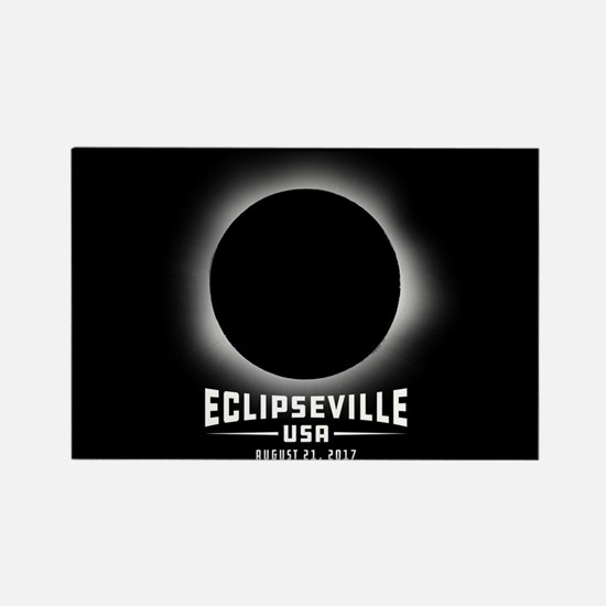 Eclipseville USA Rectangle Magnet