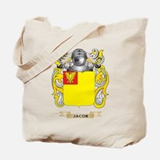 Jacob Coat of Arms (Family Crest) Tote Bag