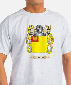 Jacob Coat of Arms (Family Crest) T-Shirt