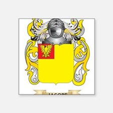 Jacobs Coat of Arms (Family Crest) Sticker
