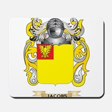 Jacobs Coat of Arms (Family Crest) Mousepad