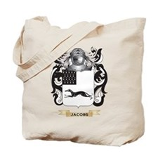 Jacobs-2 Coat of Arms (Family Crest) Tote Bag
