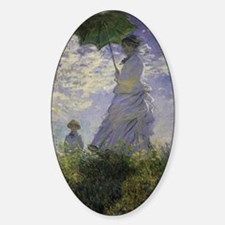 Woman with Parasol by Claude Monet  Decal