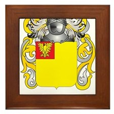 Jacoby Coat of Arms (Family Crest) Framed Tile