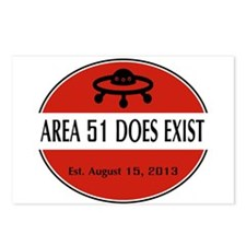 Area 51 Does Exist Postcards (Package of 8)