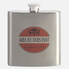 Area 51 Does Exist Flask