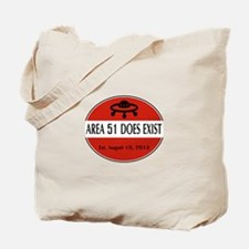 Area 51 Does Exist Tote Bag