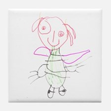 Fairy Princess Tile Coaster