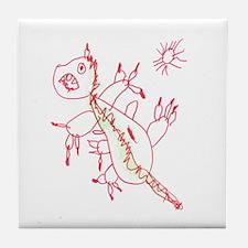 Little Monster Tile Coaster