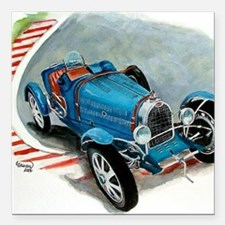 """1933 Type 51A Square Car Magnet 3"""" x 3"""""""
