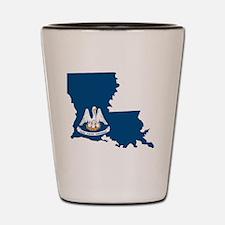 Cool Louisiana art Shot Glass