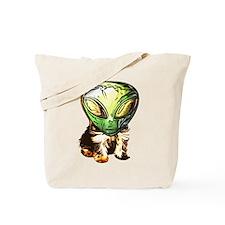 Alien puppy Tote Bag