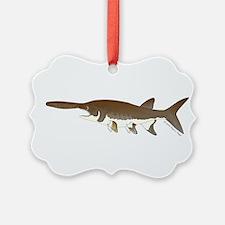 Paddlefish Ornament