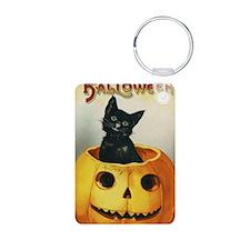 Halloween Greeting Card 8 Keychains