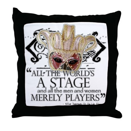 As You Like It II Throw Pillow