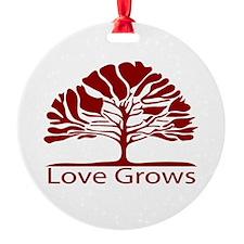 Love Grows Ornament
