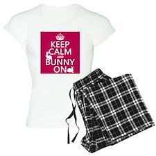 Keep Calm and Bunny On pajamas