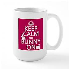 Keep Calm and Bunny On Mug