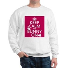 Keep Calm and Bunny On Jumper
