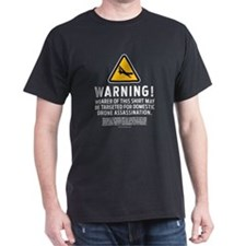 Drone Warning T-Shirt
