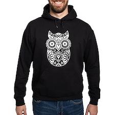 Sugar Skull Owl Hoody